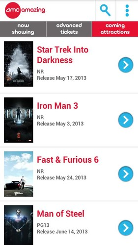 AMC Theatres screenshot 5