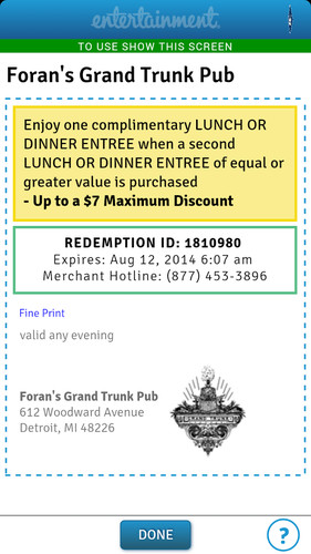 Entertainment Coupons screenshot 13