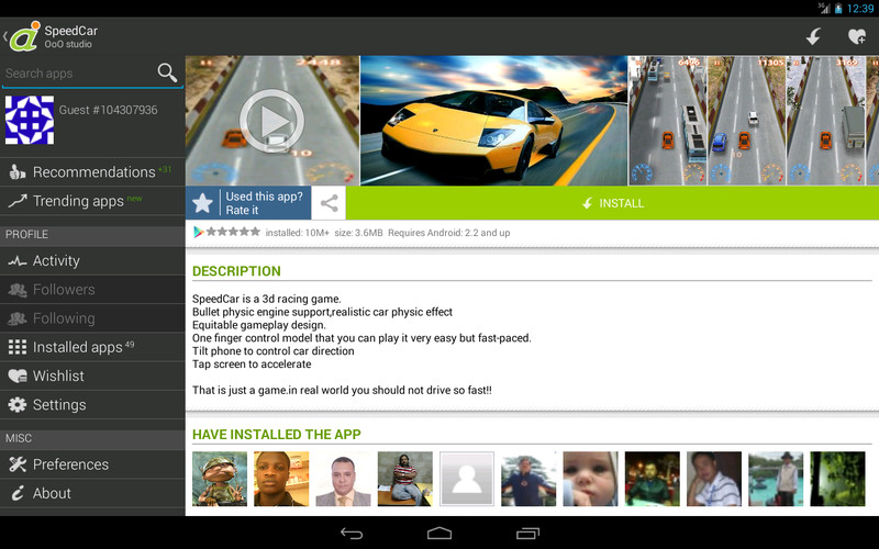 Android Informer screenshot 2