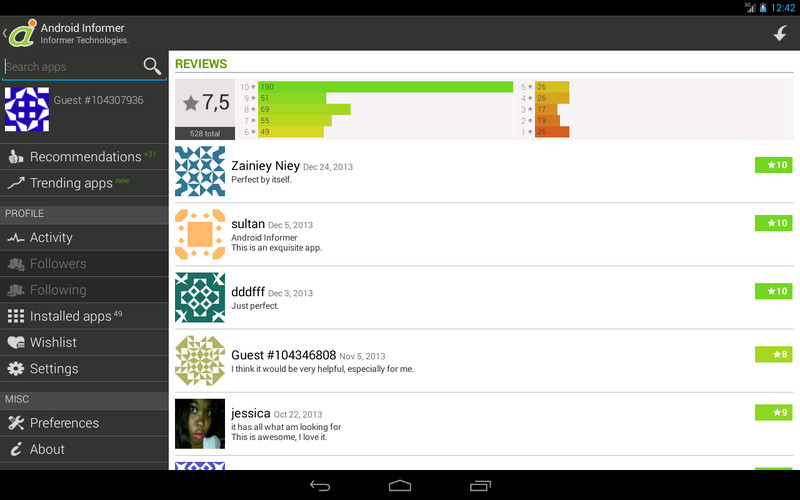 Android Informer screenshot 4