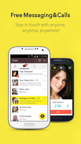Free KakaoTalk: Free Calls & Text cell phone app