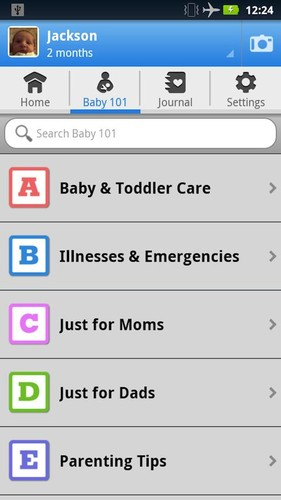 WebMD Baby screenshot 2