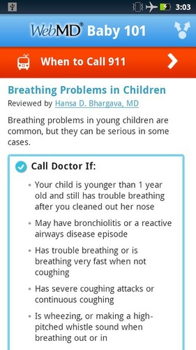WebMD Baby screenshot 4