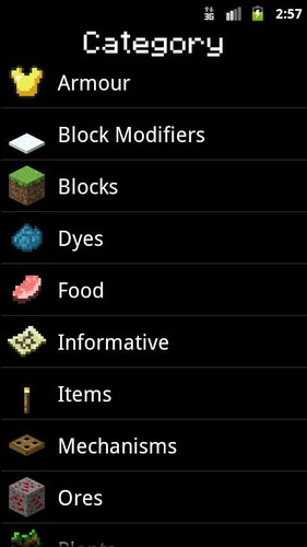 Free MinerGuide - For Minecraft cell phone app