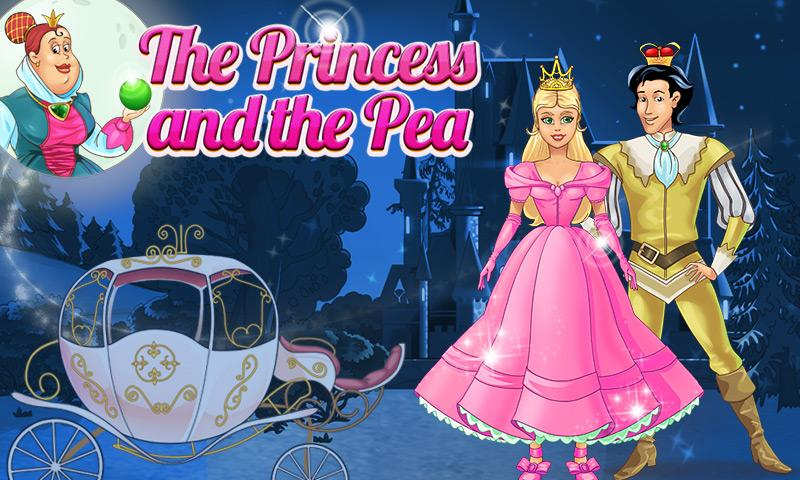 Free Princess and Pea Book for Kids cell phone app