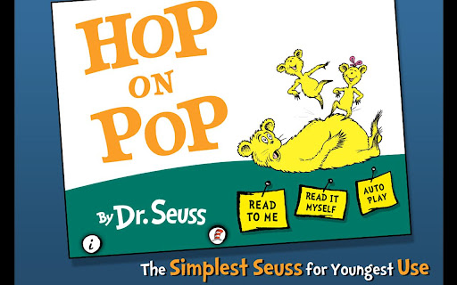Free Hop on Pop - Dr. Seuss cell phone app
