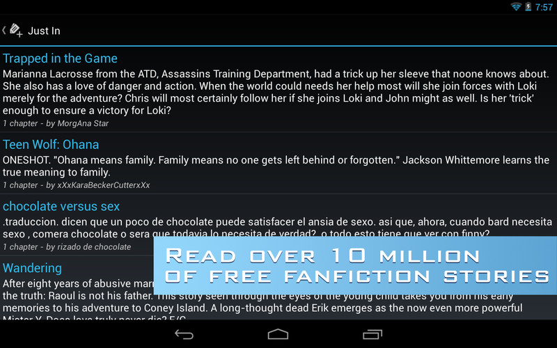 FanFiction Reader Pro screenshot 7