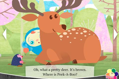 Free Peekaboo Goes Camping Book cell phone app