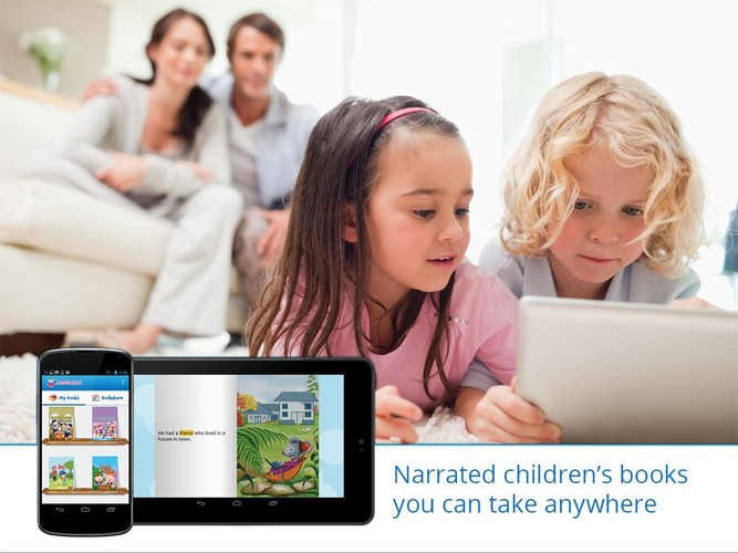 Free MeeGenius Childrens Books cell phone app