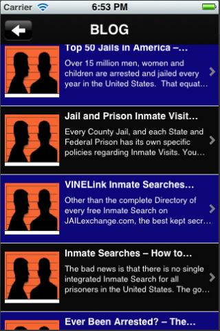 Jail, Prison and Inmate Search screenshot 6