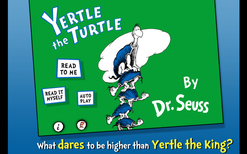 Free Yertle the Turtle - Dr. Seuss cell phone app