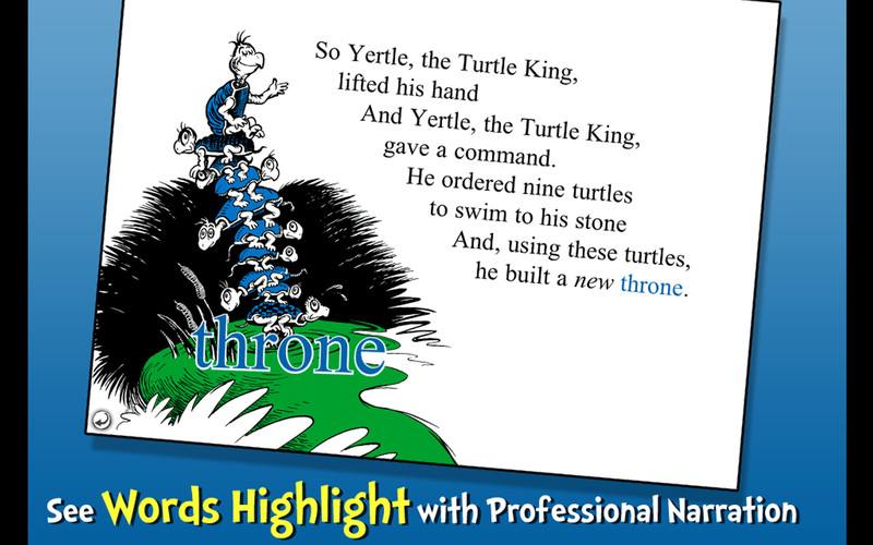 Yertle the Turtle - Dr. Seuss screenshot 5