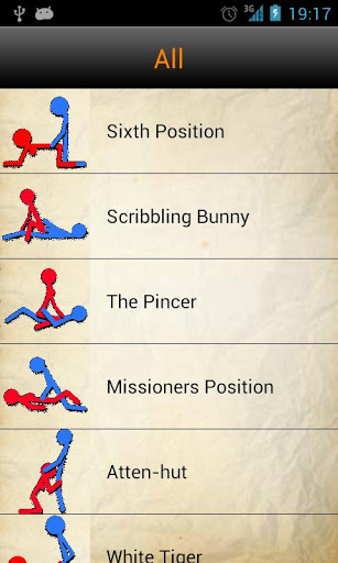 Free SexPositions cell phone app