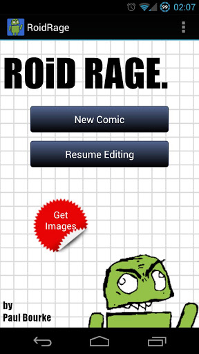 Free RoidRage Comic Maker cell phone app