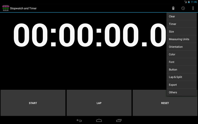 Free Simple Stopwatch & Timer free cell phone app