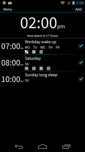 Free I Cant Wake Up! Alarm Clock cell phone app