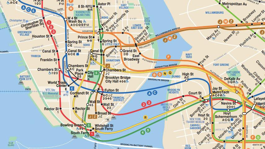 New York Subway Map Mobile.Free New York Metro Map Cell Phone App