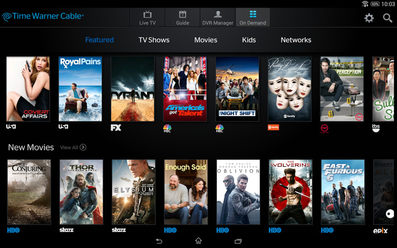 Free TWC TV® cell phone app