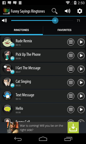 Funny Sayings Ringtones screenshot 2