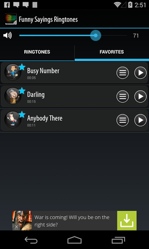 Funny Sayings Ringtones screenshot 4