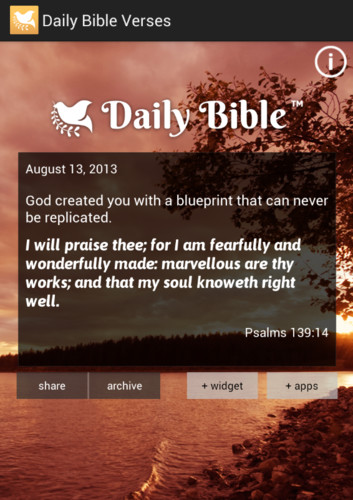 Daily Bible Verses screenshot 5