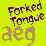 Forked Tongue FlipFont