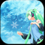Snow Miku Live Wallpaper