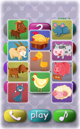 Free Kids game: baby phone cell phone app