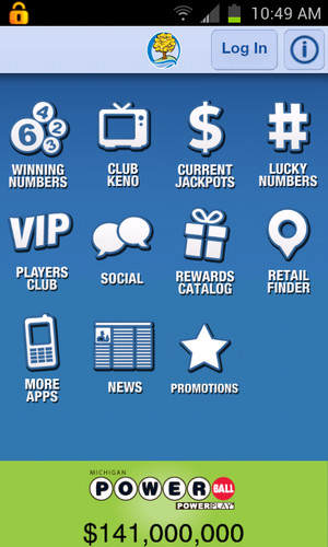 Free Michigan Lottery Mobile cell phone app