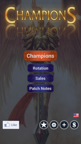 Free League of Legends Champions cell phone app