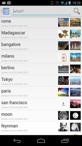 Free Image Search cell phone app