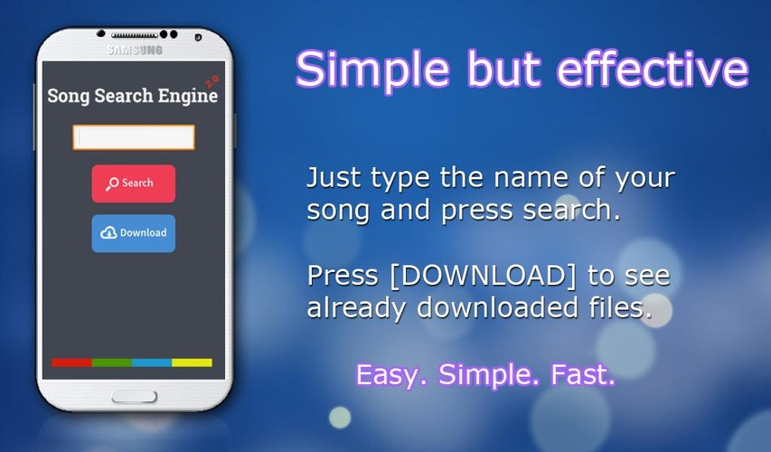 Free Simple MP3 Downloader Songs cell phone app