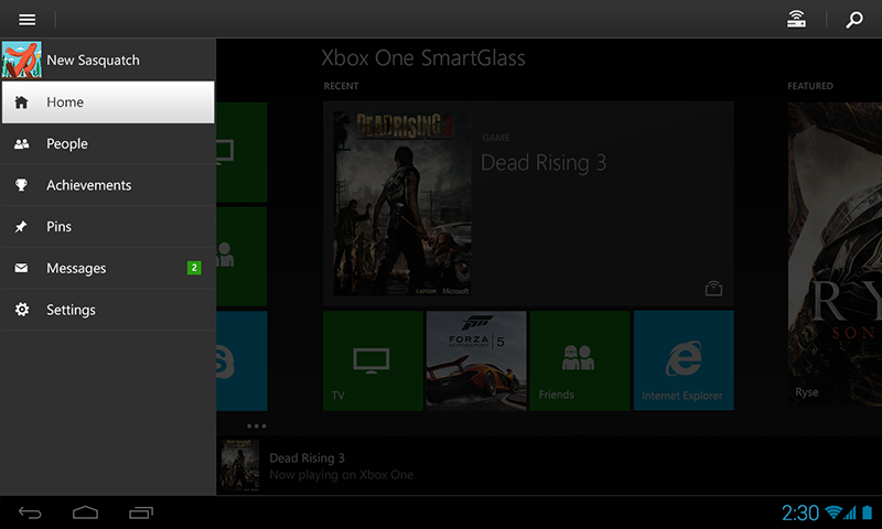 Xbox One SmartGlass Beta screenshot 2