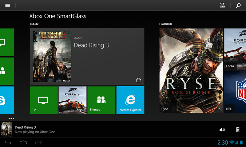 Xbox One SmartGlass Beta screenshot 3