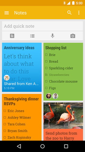 Google Keep - notes and lists screenshot 8