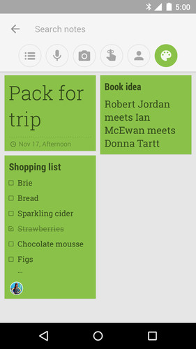 Google Keep - notes and lists screenshot 9