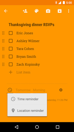 Google Keep - notes and lists screenshot 12