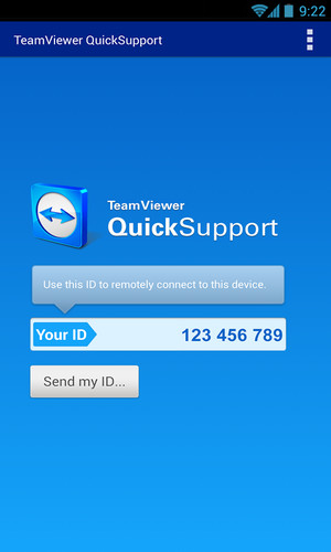 TeamViewer QuickSupport screenshot 7