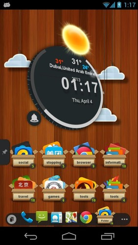 TSF Clock Widget screenshot 3
