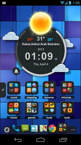 TSF Clock Widget screenshot 4