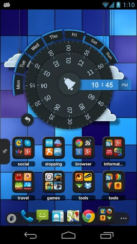 TSF Clock Widget screenshot 5