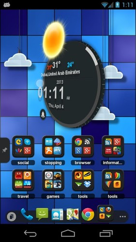 TSF Clock Widget screenshot 6