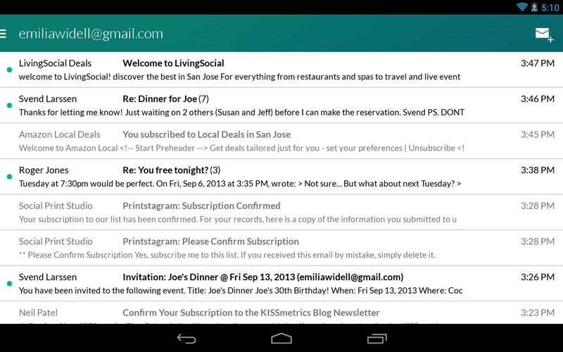 Email App for Gmail & Exchange screenshot 6