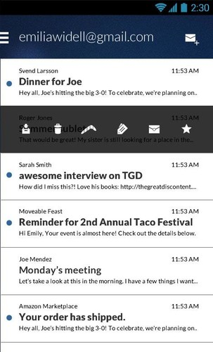 Email App for Gmail & Exchange screenshot 8