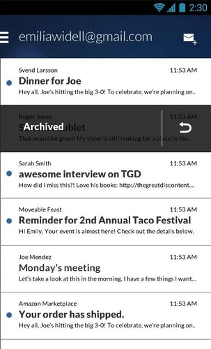 Email App for Gmail & Exchange screenshot 9