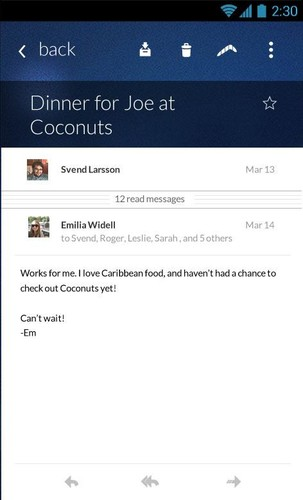 Email App for Gmail & Exchange screenshot 12
