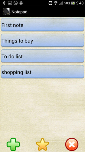Notepad screenshot 4