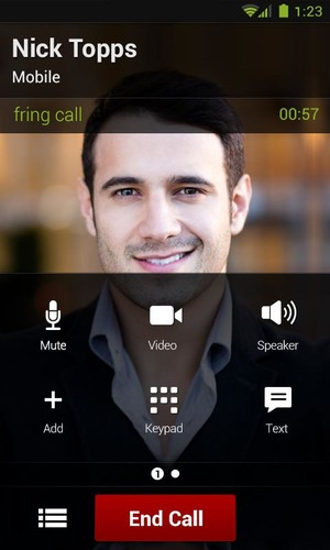 fring Free Calls, Video & Text screenshot 6
