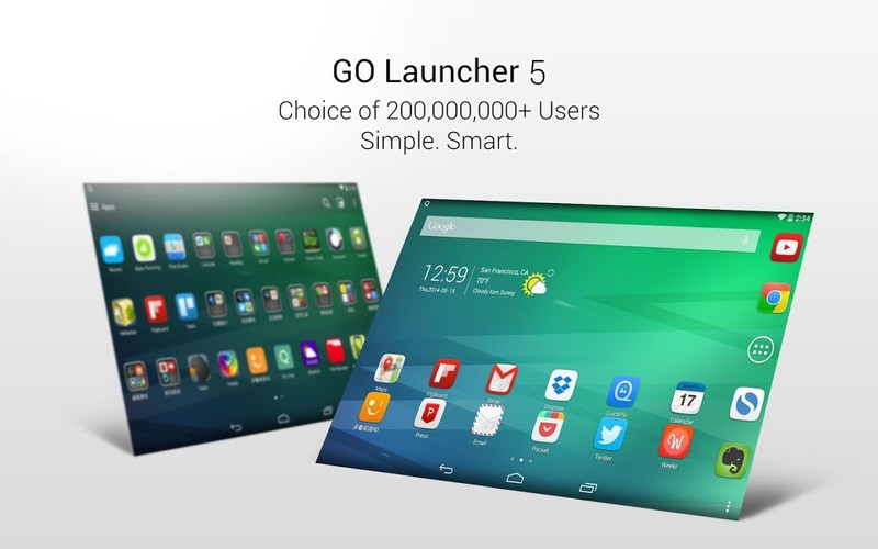 Free GO Launcher EX-free theme,fast cell phone app
