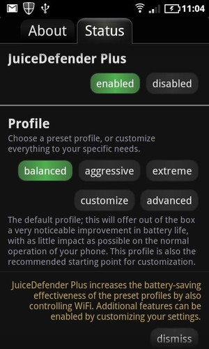 Free JuiceDefender - battery saver cell phone app